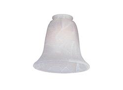 Glass - White Faux Alabaster