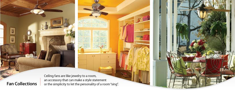 Be Inspired - Ceiling Fan Collections
