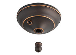 Pull Chain Type Bowl Cap Kit - Roman Bronze