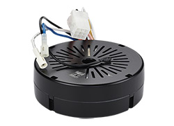 Fan mounted receiver with reverse, uplight/downlight