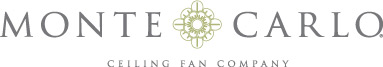 Silver Nickel Chrome Ceiling Fans  by the Monte Carlo Fan Company