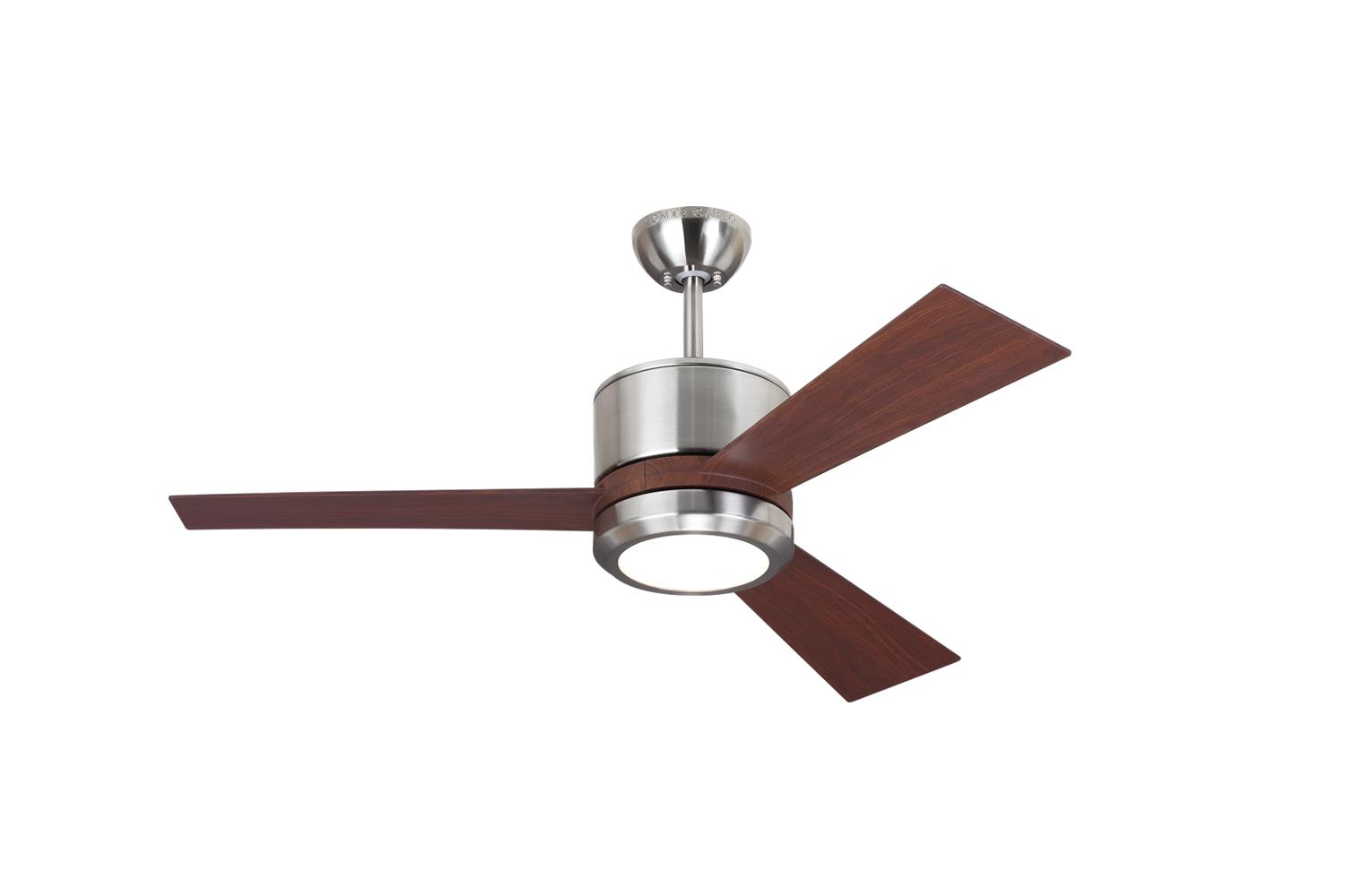 Small size ceiling fans by the monte carlo fan company 3vnr42bsd mozeypictures Image collections