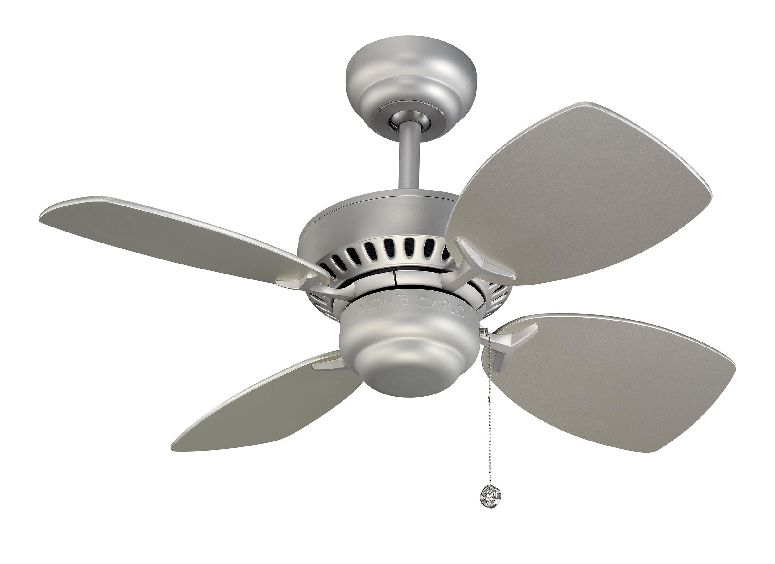 Mini size ceiling fans by the monte carlo fan company 28 colony ii fan brushed pewter aloadofball Image collections