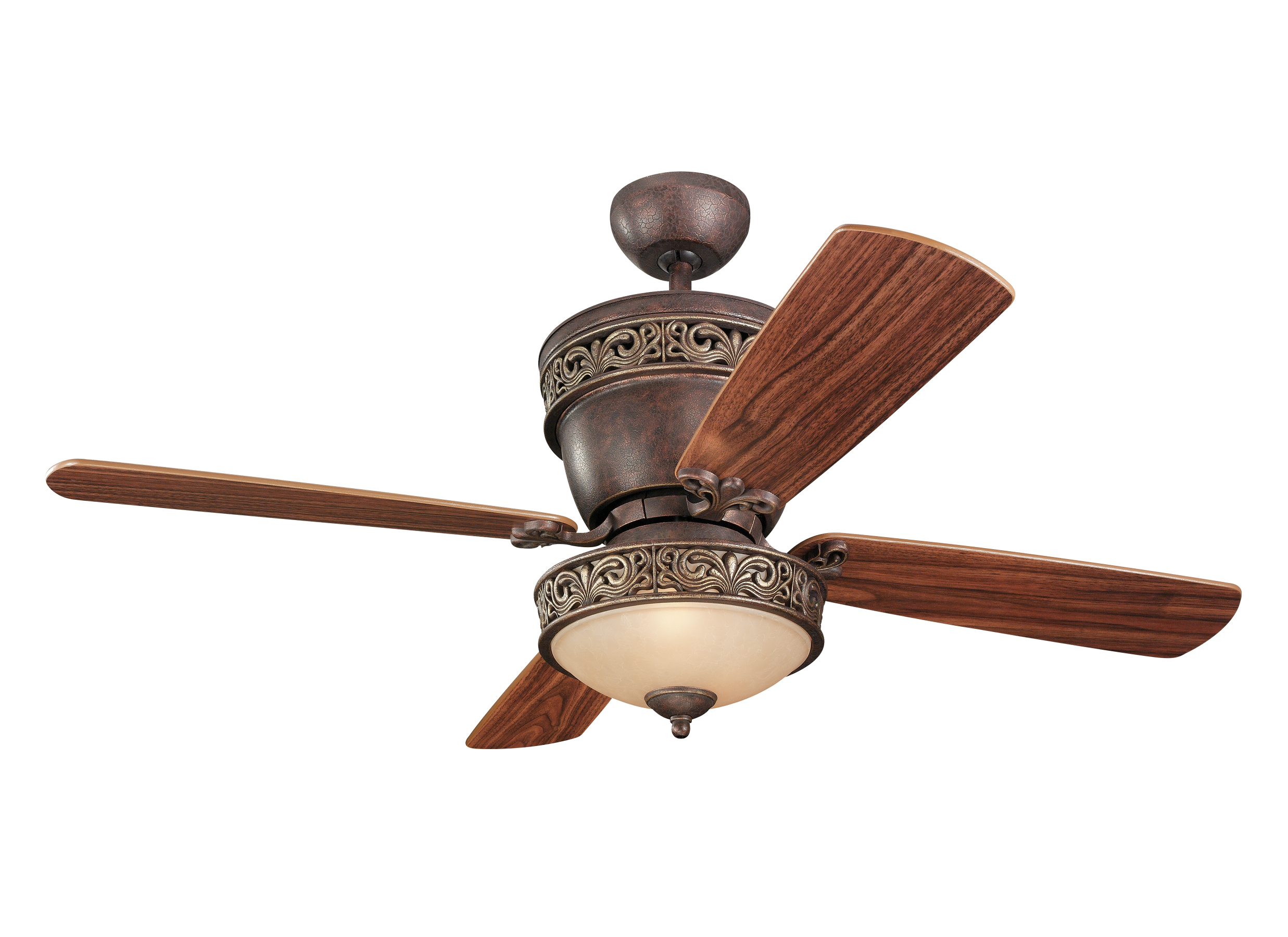 "4VG42 28TBD L 42"" or 28"" Villager Fan Tuscan Bronze Tuscan Bronze"