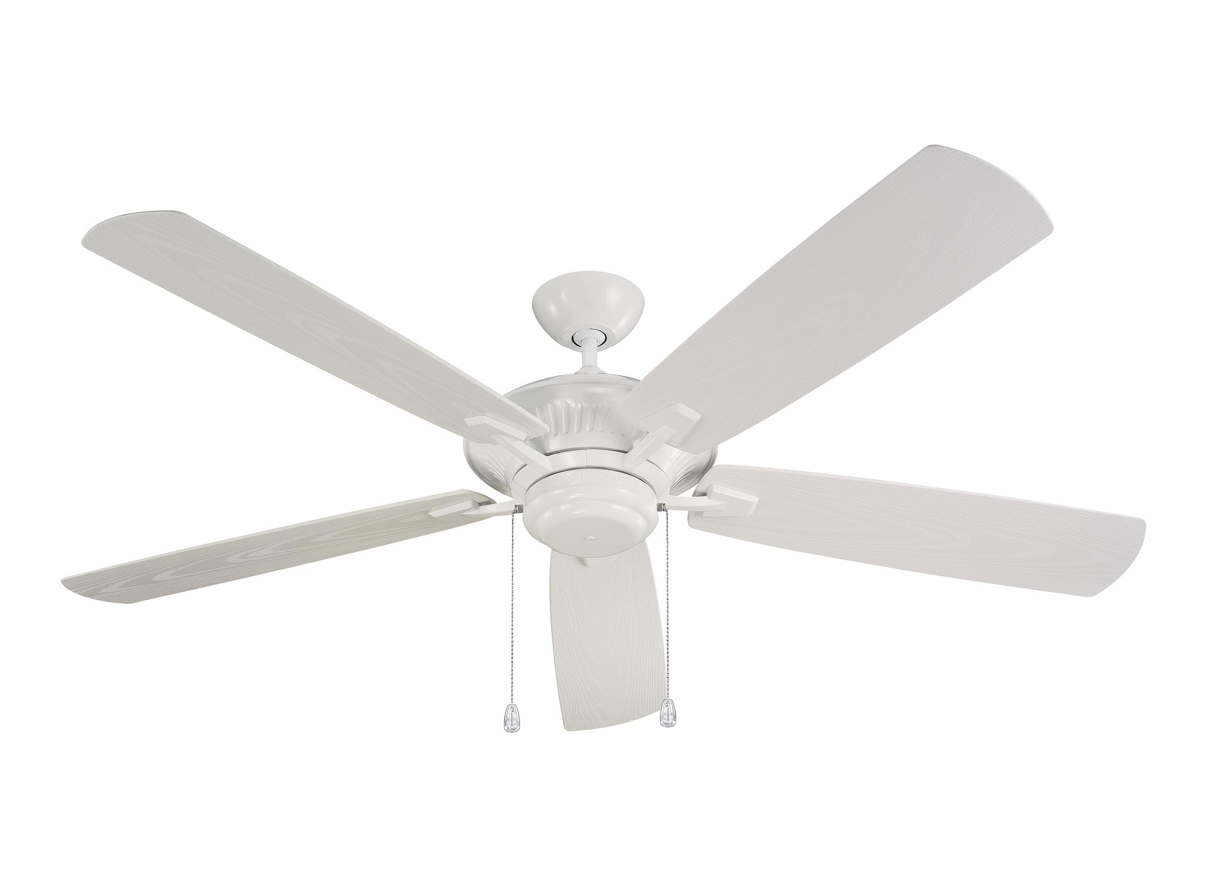 """5CY60WH 60"""" Cyclone Outdoor Fan White White"""