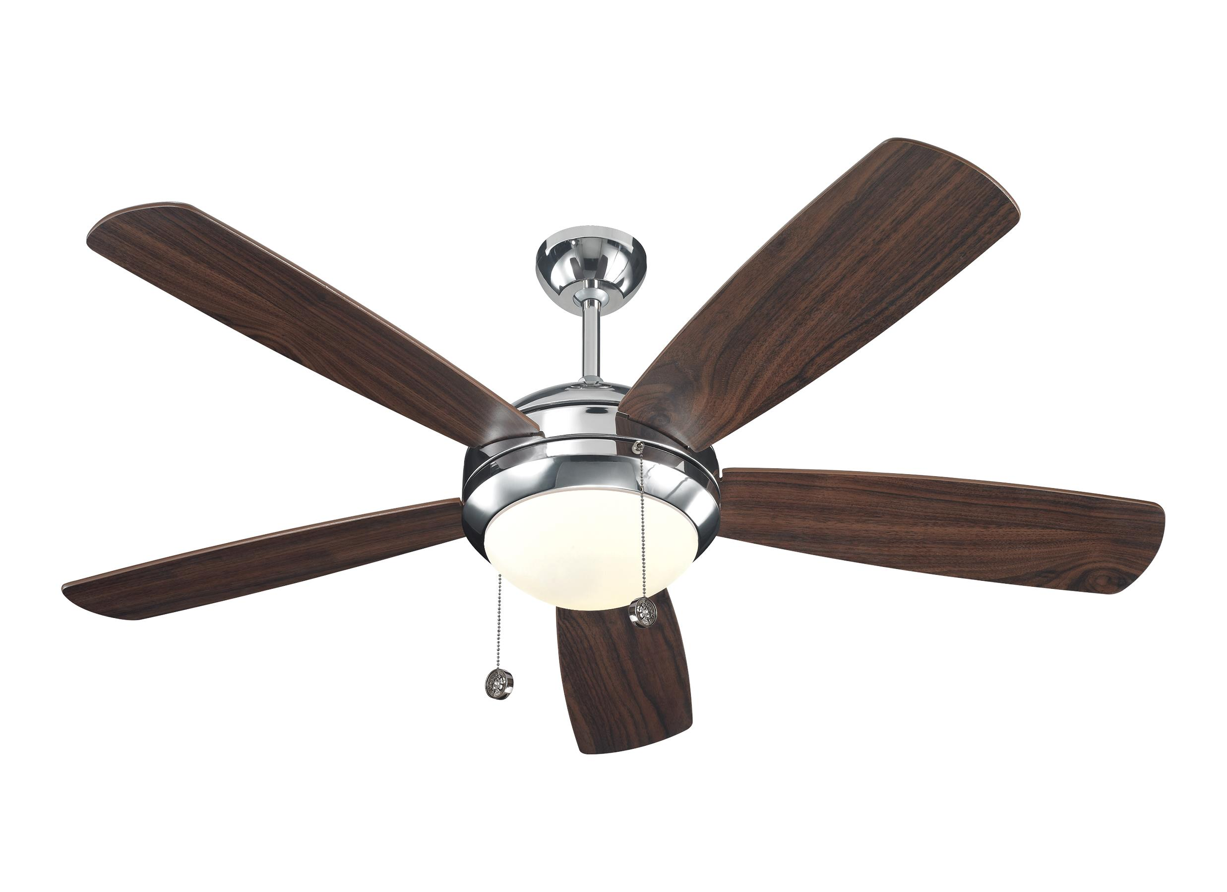 5DI52PND 52 Discus Fan Polished Nickel Polished Nickel