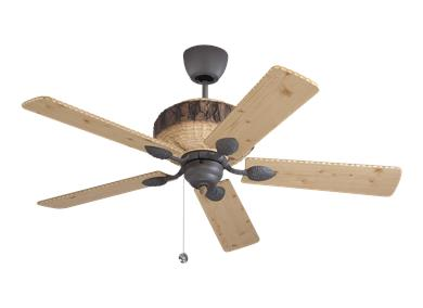 Period specific ceiling fans by the monte carlo fan company for Ceiling fan companies