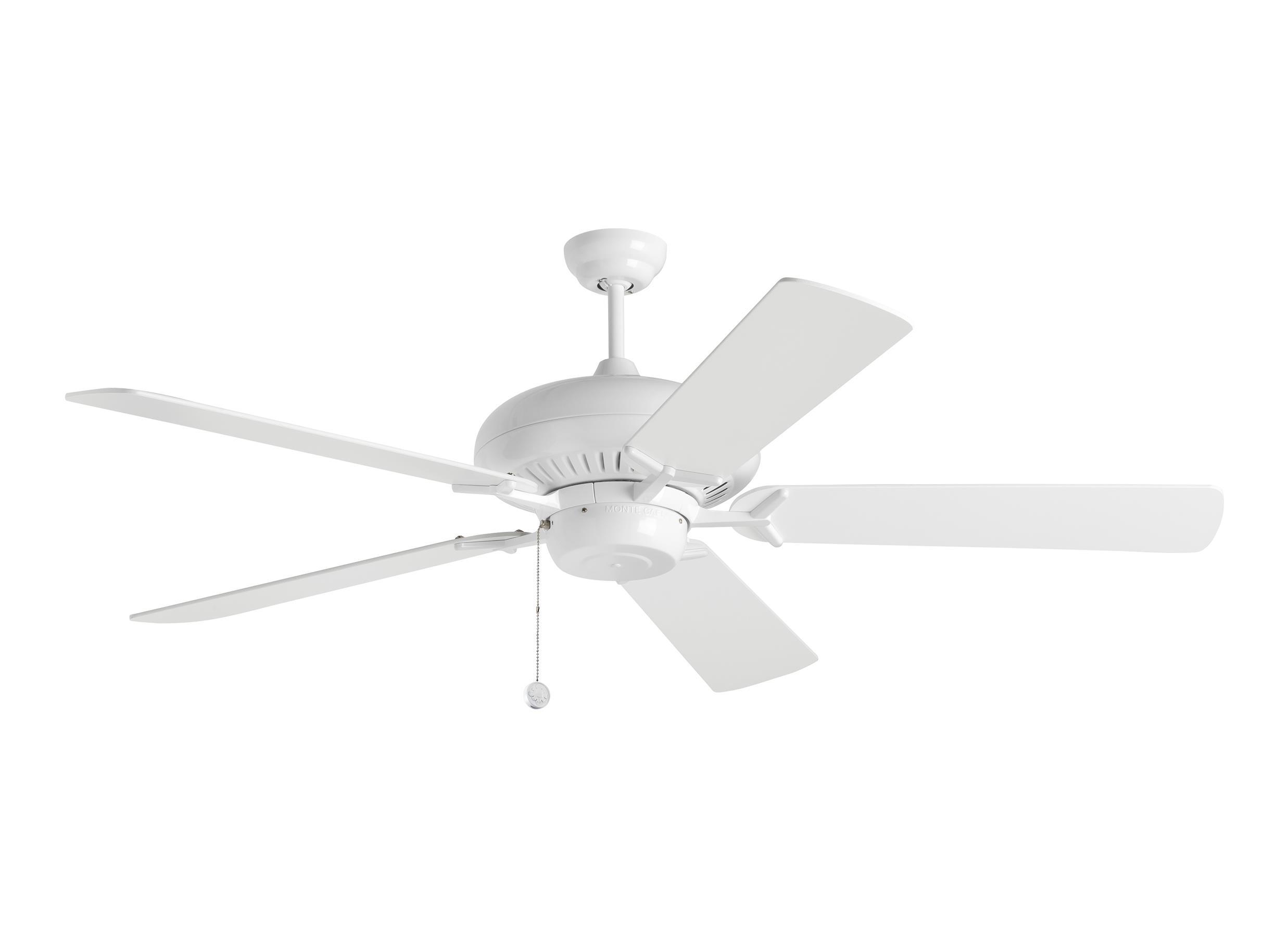 "5GP60WH 60"" Grand Prix Fan White White"