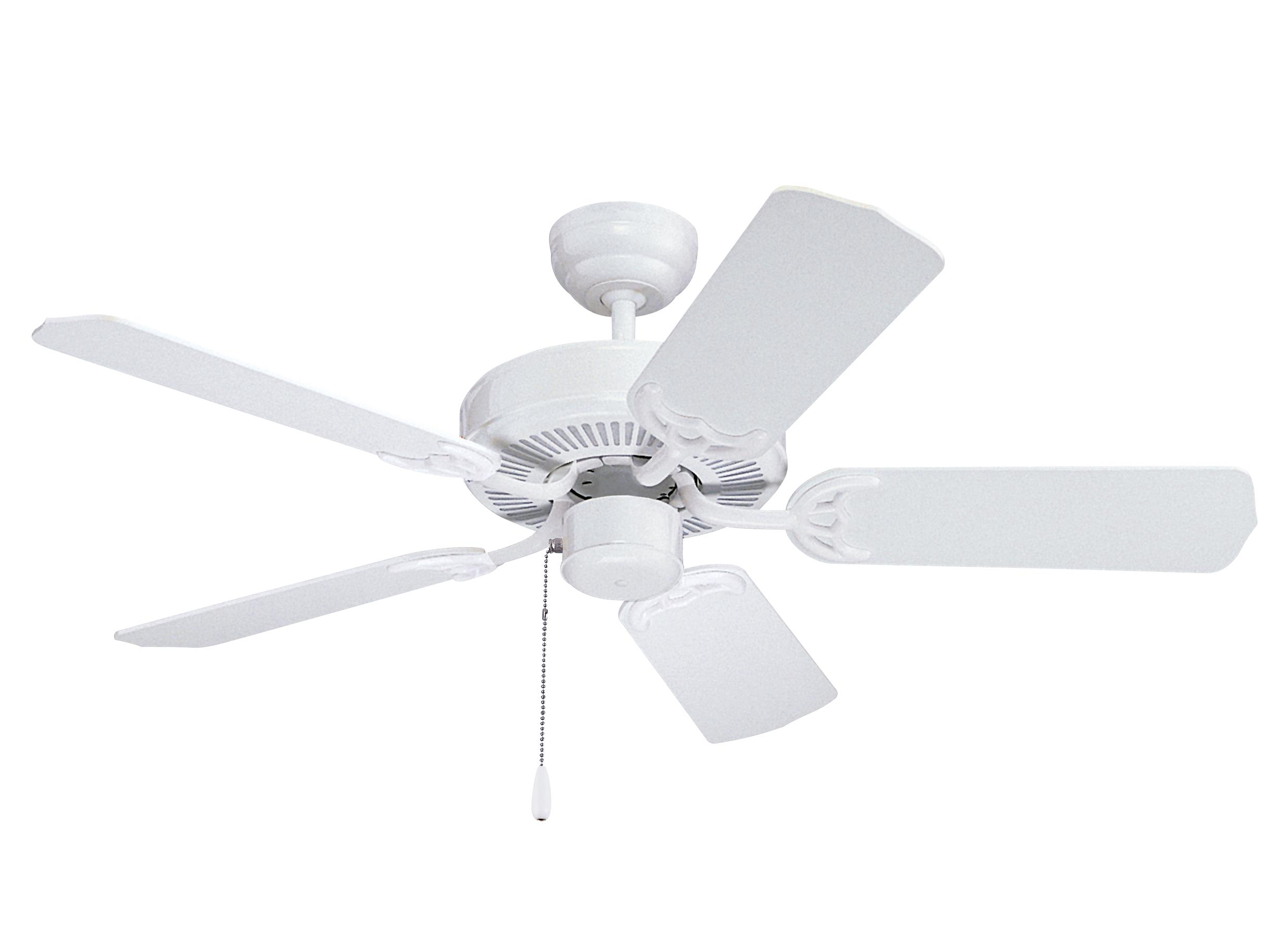 "5HS42WH 42"" Homeowners Select II Fan White White"