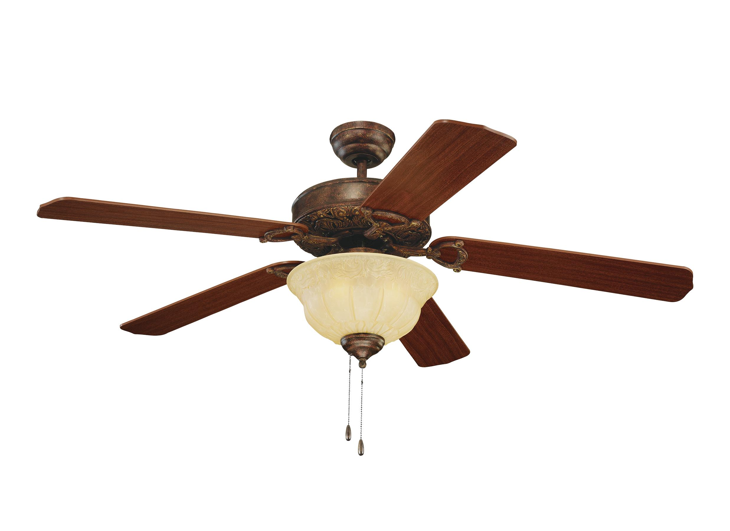 "5or52tbd-l,52"" ornate elite fan - tuscan bronze,tuscan bronze"