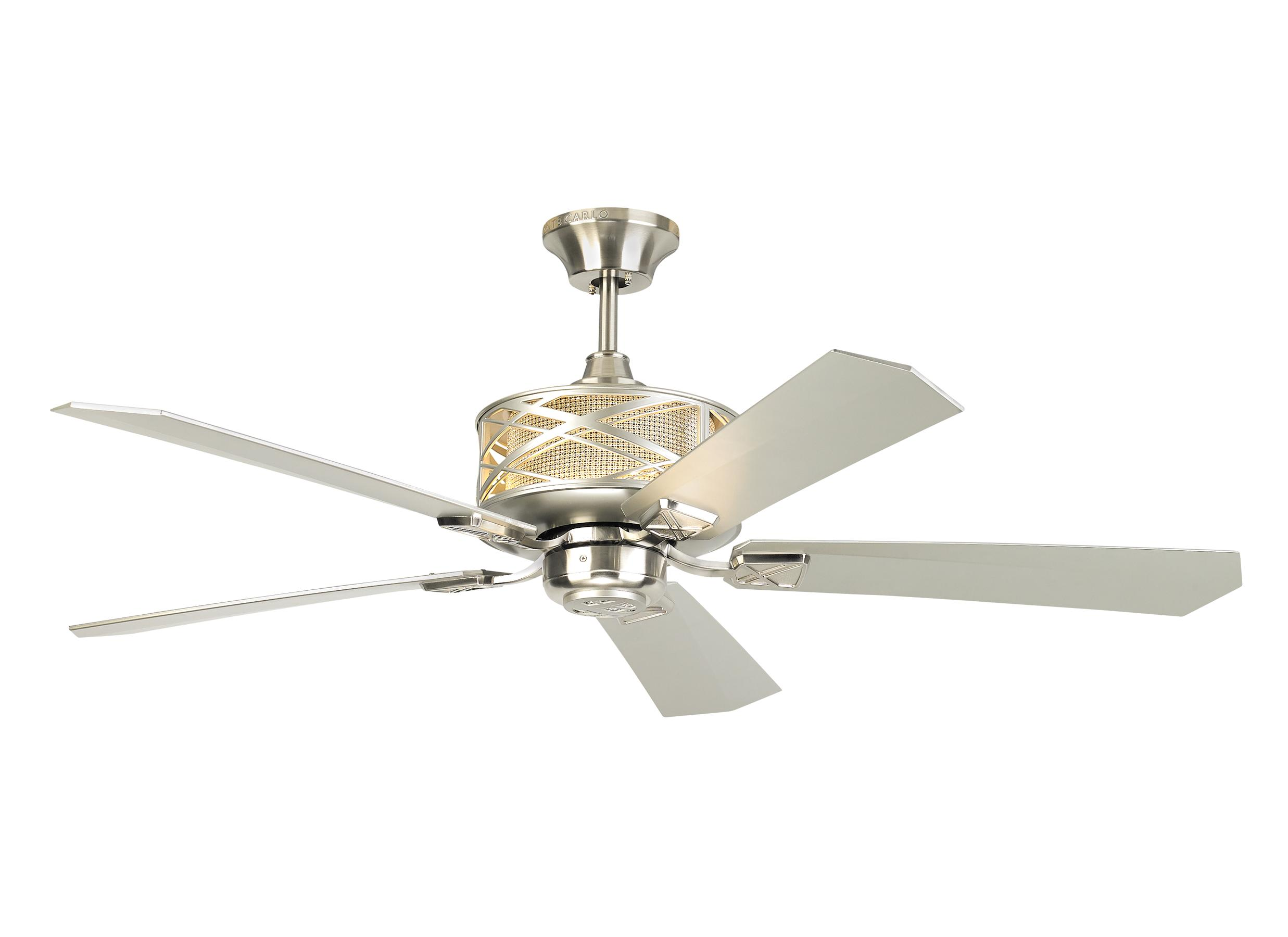 """5PPR54BS 54"""" Piper Brushed Steel Brushed Steel"""