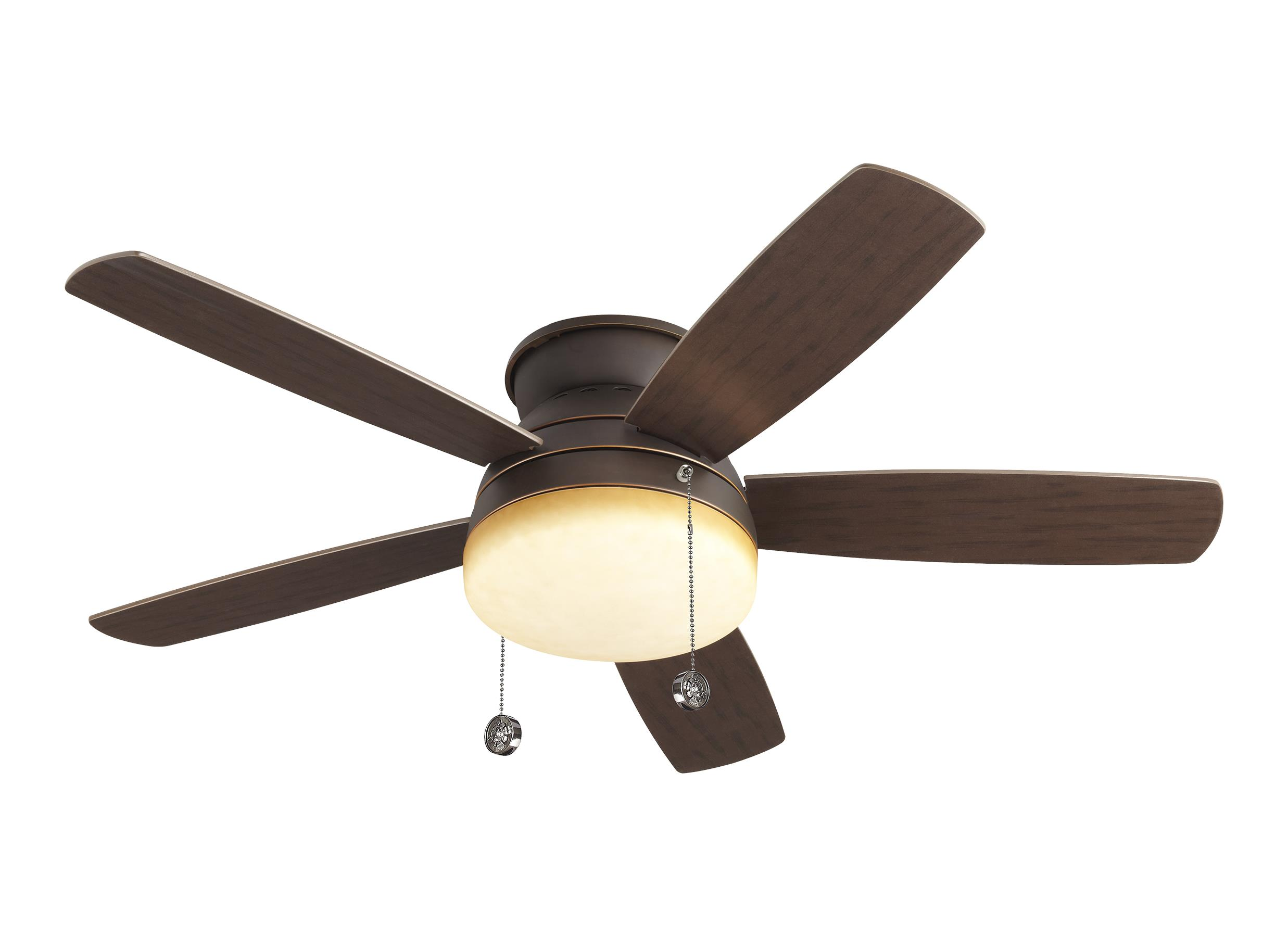 "5TV52RBD 52"" Traverse Semi Flush Fan Roman Bronze Roman Bronze"