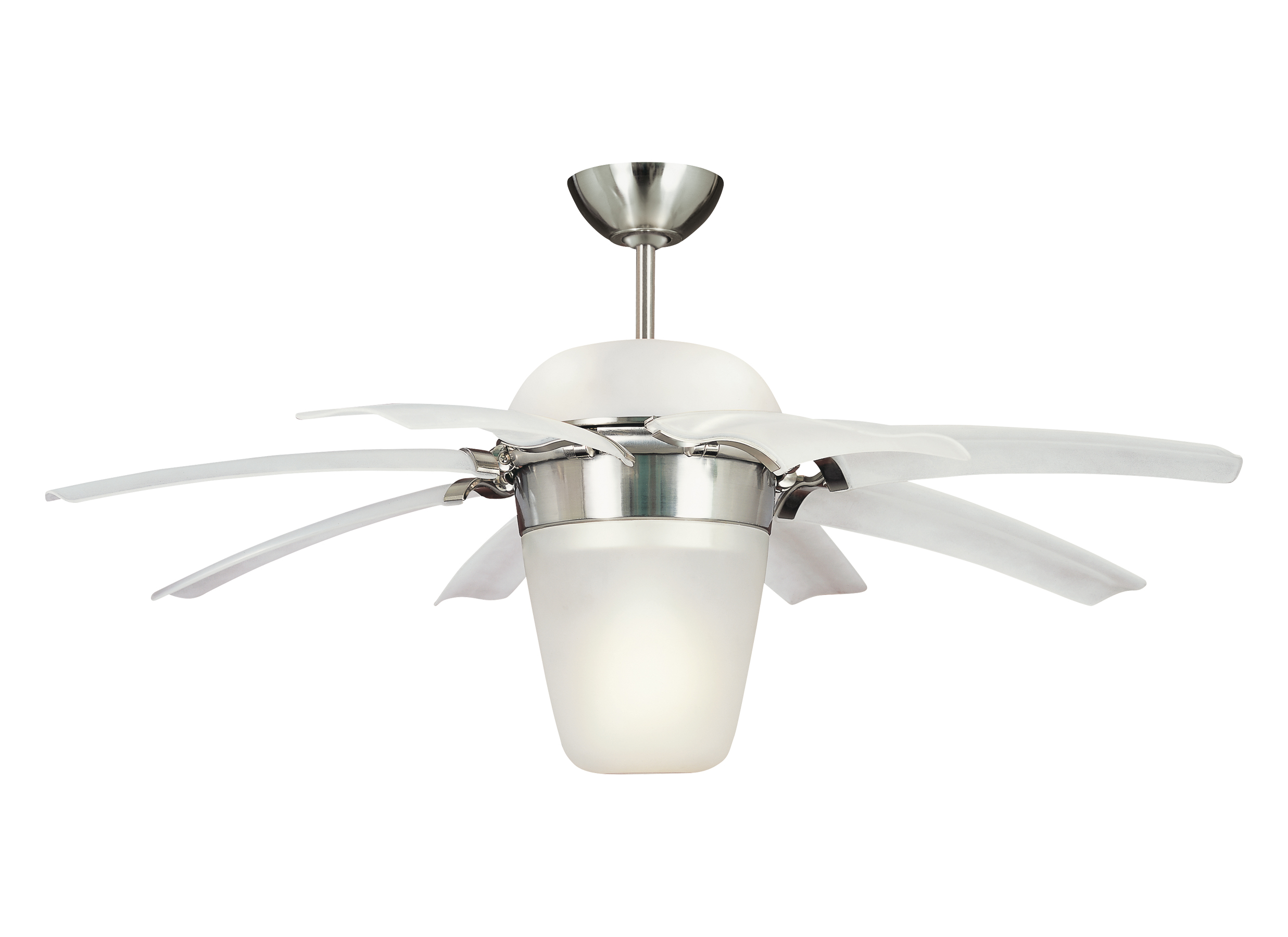 "8ATR44BSD L 44"" Airlift Fan Brushed Steel Brushed Steel"