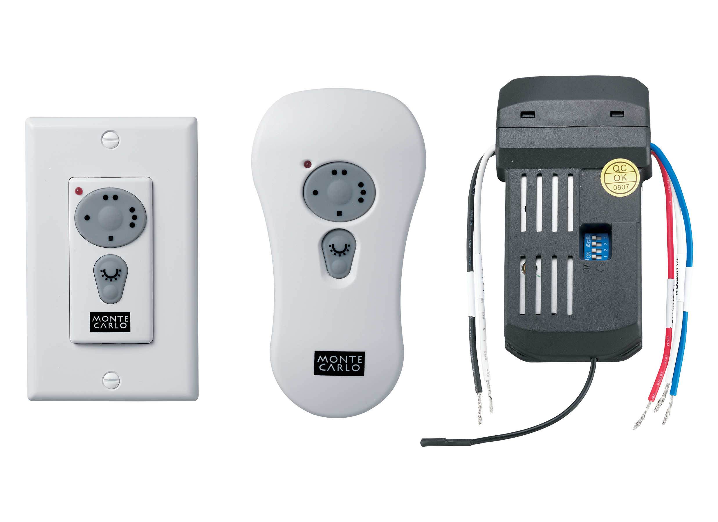 CK250 Wall Hand held Remote Control Kit White