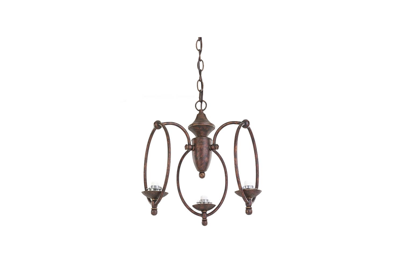 Mc180tb 3 Light Hanging Basket Fitter Tuscan Bronze Tuscan