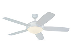52' Sleek Fan - White