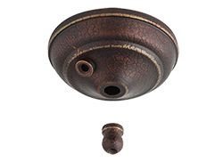 Pull Chain Type Bowl Cap Kit - Tuscan Bronze