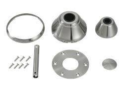 Maverick Custom Finish Kit - Brushed Steel