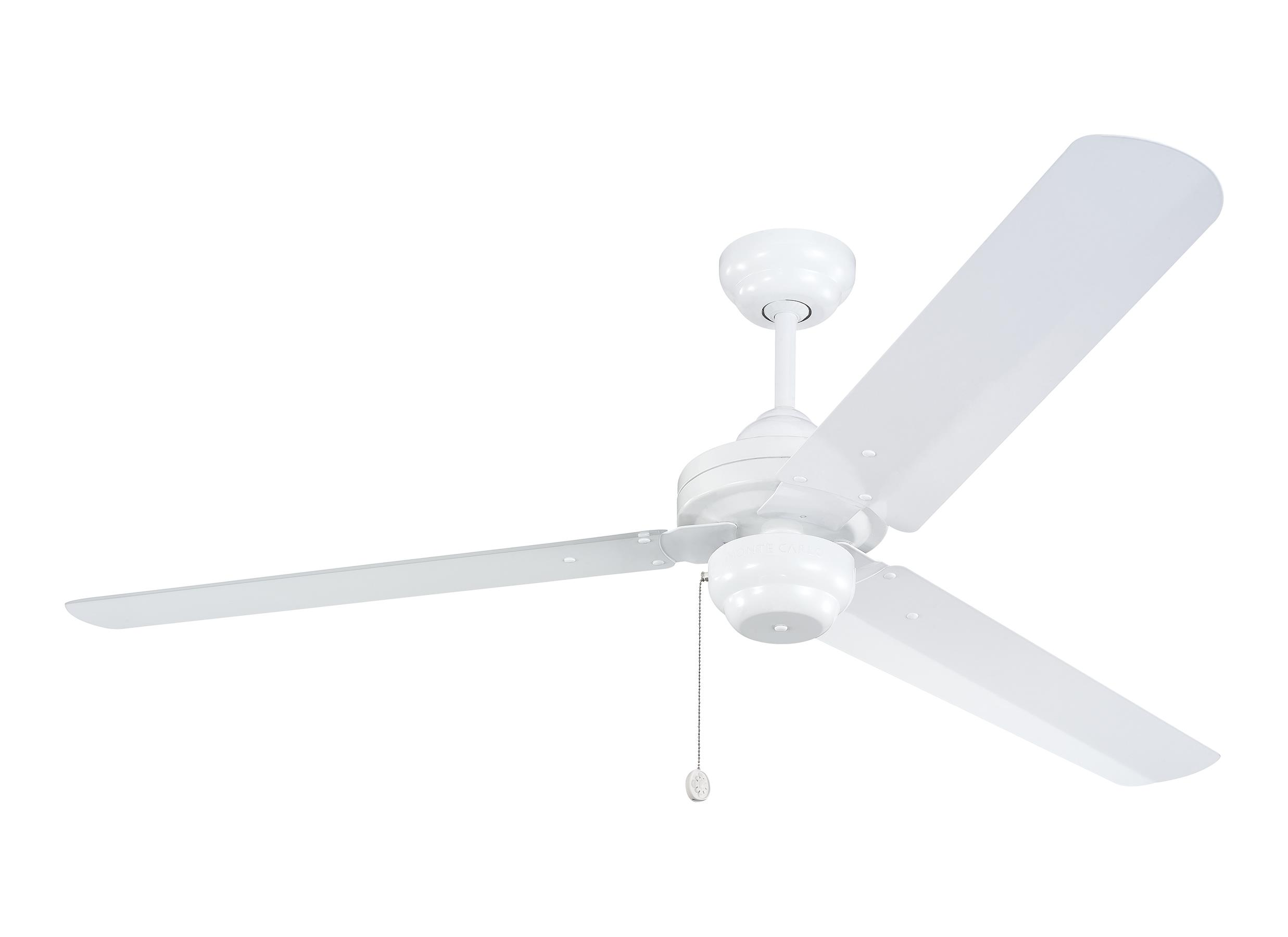 "3SU54WH 54"" Studio Fan White White"
