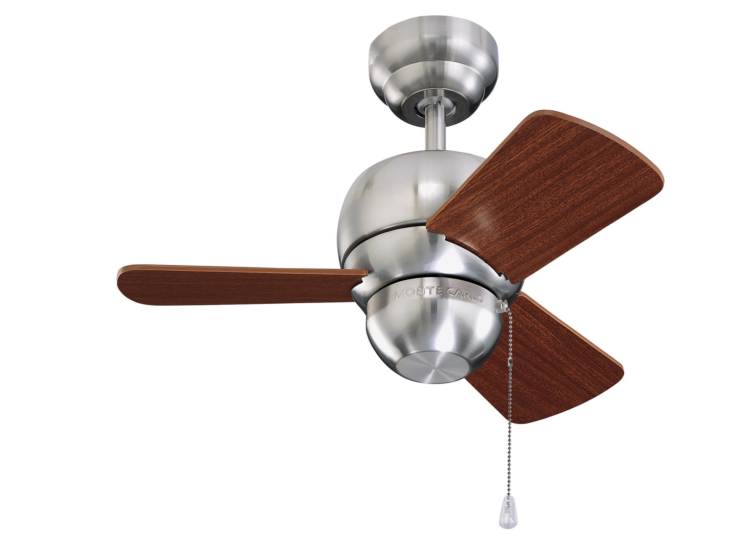 """3TF24BS 24"""" Micro 24 Fan Brushed Steel Brushed Steel"""