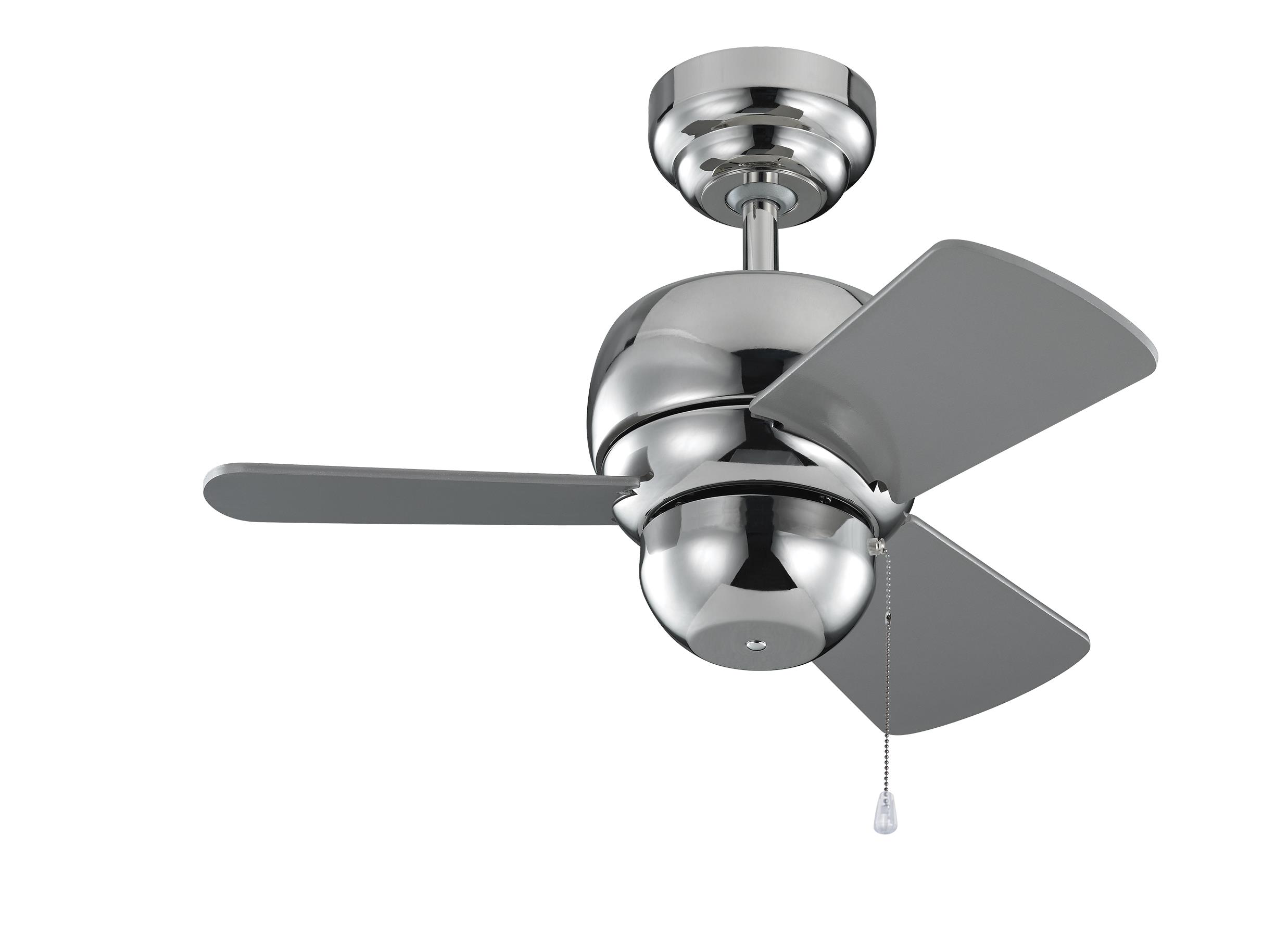 3TF24PN 24 Micro 24 Fan Polished Nickel Polished Nickel