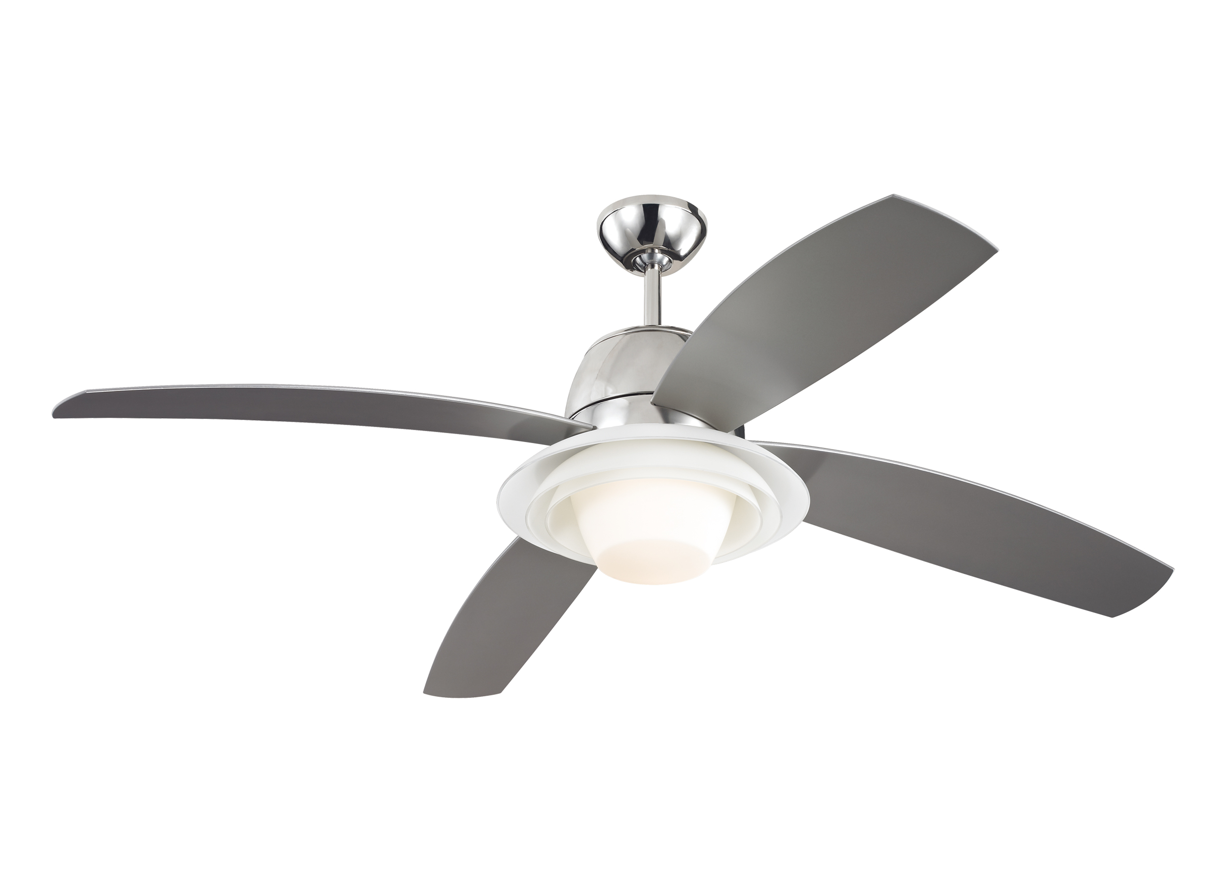 "4ICR52PND 52"" Icon Fan Polished Nickel Polished Nickel"