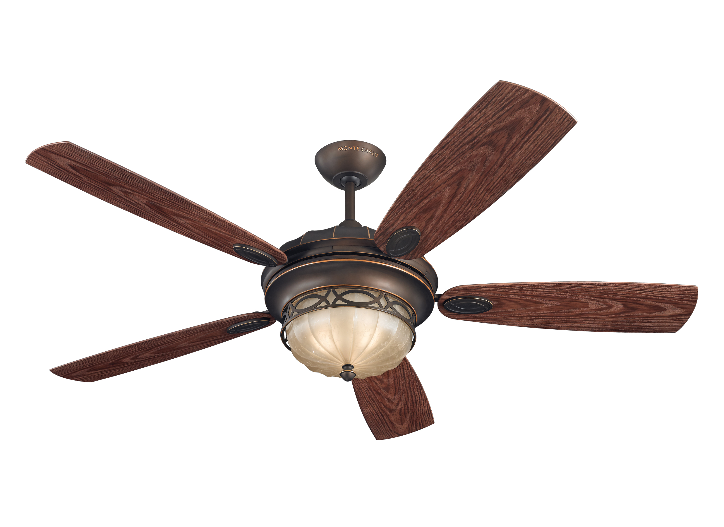 "5ED56RBD 56"" Drawing Room Fan Roman Bronze Roman Bronze"