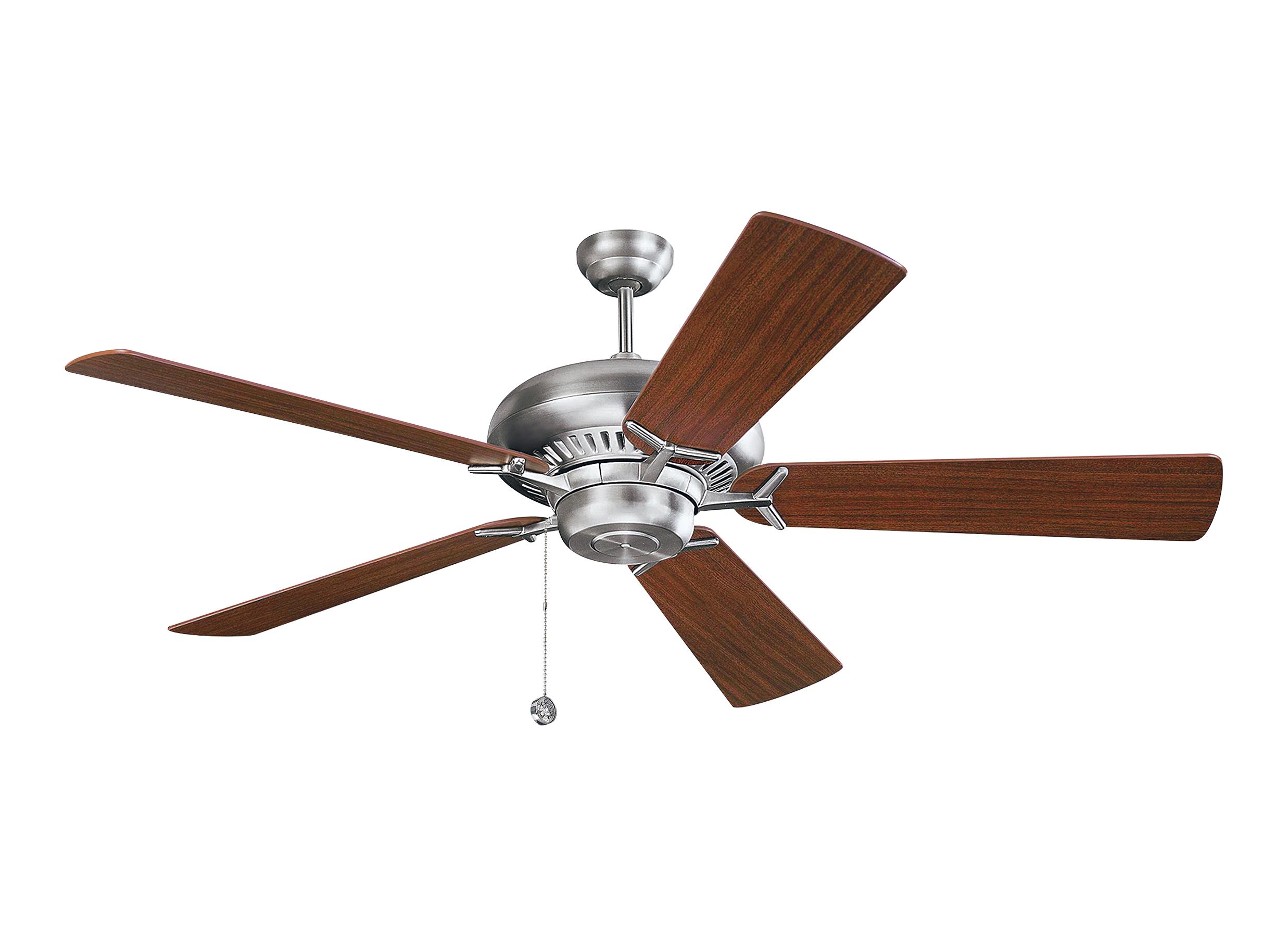 "5GP60BS 60"" Grand Prix Fan Brushed Steel Brushed Steel"