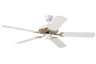 5hs52wp 52 Quot Homeowners Select Fan Polished Brass White